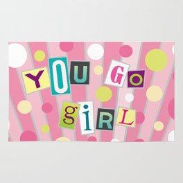 You Go Girl Rug