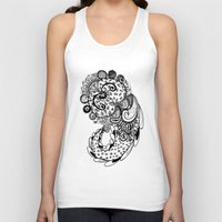 paisley Tank Tops featuring Paisley by Flavia Caponi