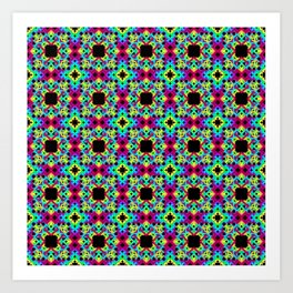 Geometric Colors 2 Art Print