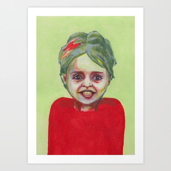 Les petites filles I.37 Art Print