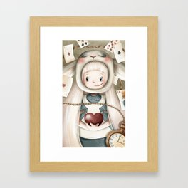 Another Alice Framed Art Print