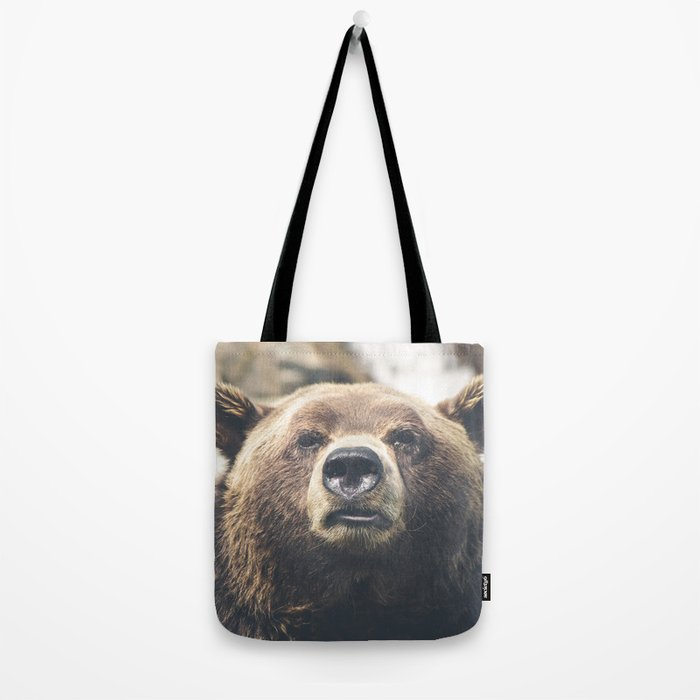 Animal bear Tote Bag