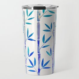 Bamboo Stems – Indigo Palette Travel Mug