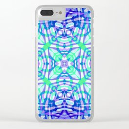 Ethnic Tribal Pattern G322 Clear iPhone Case