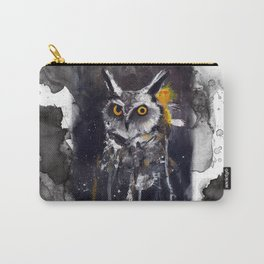 Ghostly Owl Carry-All Pouch