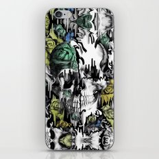 Gone in a splash. Color.  iPhone & iPod Skin