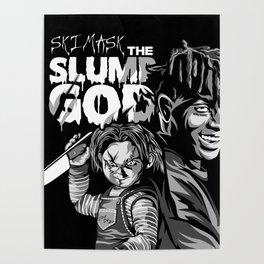 Ski and Chucky Poster