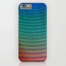 Rainbow Circles iPhone 6s Slim Case