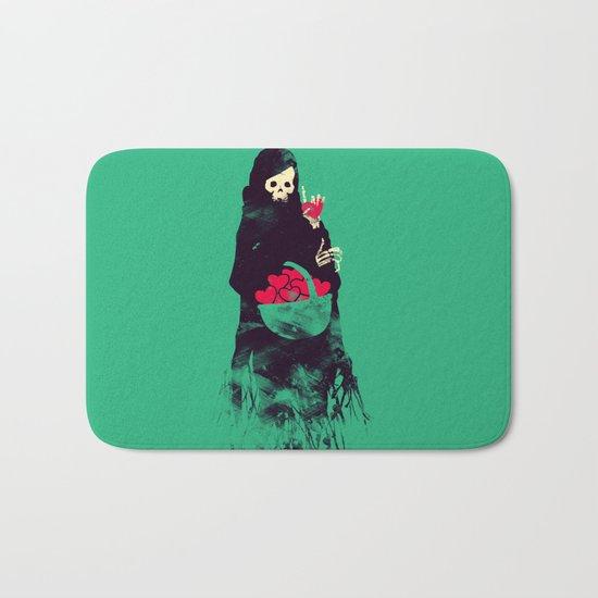 Death Valentine Gift Bath Mat