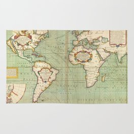 Old World Map Rugs Society - Old world map rug