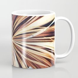 356 - Abstract Palm Fronds Design Coffee Mug