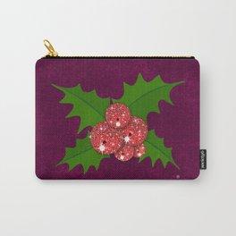 Sparkling Mistletoe Carry-All Pouch