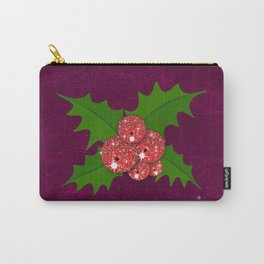 Sparkling Mistletoe Carry-All Pouch
