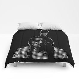 #1 Sitting Bull - RIP (Rest In Pixels) Comforters