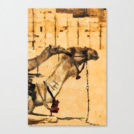 Desert Ship Canvas Print
