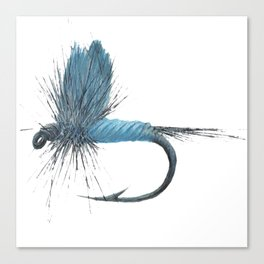 Blue Dun Dry Fly Canvas Print