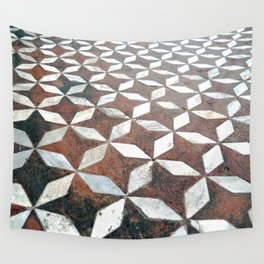 Diamonds and Stars Wall Tapestry