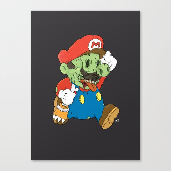 It's A Me Zombio Canvas Print