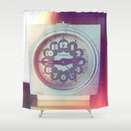 Soviet Vintage Shower Curtain