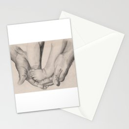 Daddy Love, Baby Feet Stationery Cards