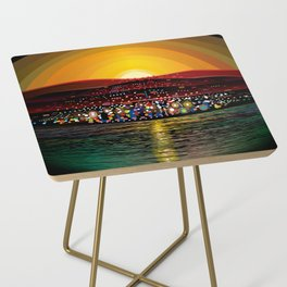 Angel Island Sunset (Square) Side Table