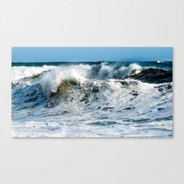 Waves at Cape Palliser, New Zealand Canvas Print