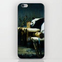 Panda in Ueno iPhone Skin