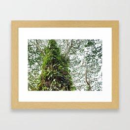 Leafy Leaves Framed Art Print