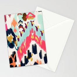 Bohemian Tribal Painting Stationery Cards