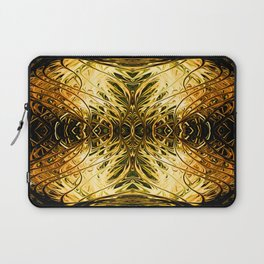 Antique Orange Pearl Sea Fan by Chris Sparks Laptop Sleeve