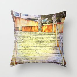Stairs to Paradise (for some) Throw Pillow