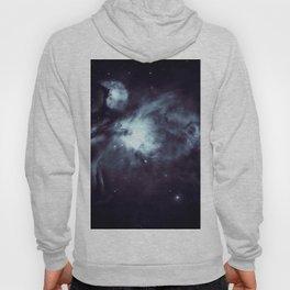 Orion Nebula Midnight Steel Blue Hoody