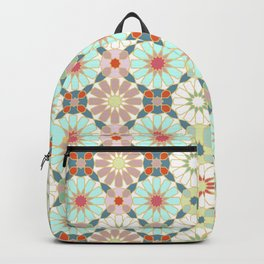 moroccan light zellij Backpack