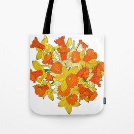 Daffodil Bouquet Tote Bag