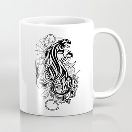 Panther - Black & White Coffee Mug
