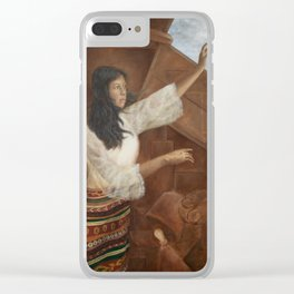 Edification Clear iPhone Case