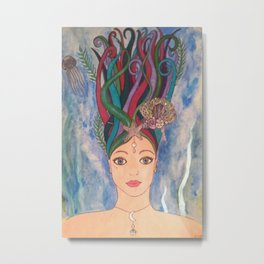 Daughter of the Deep Metal Print