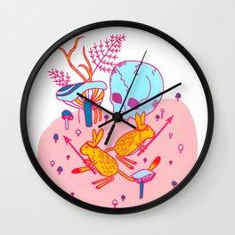 Headhunters Wall Clock