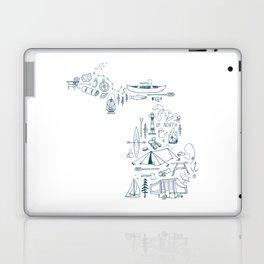 Michigan Up North Collage Laptop & iPad Skin