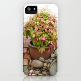Leaves and Dew iPhone Case