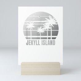 Jekyll Island Shirt Georgia Beach Vacation Souvenir T-Shirt Mini Art Print
