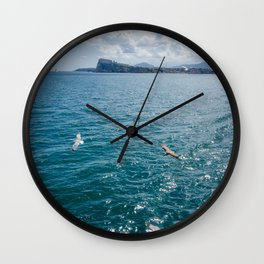 Procida and Ischia seen from Sea Wall Clock