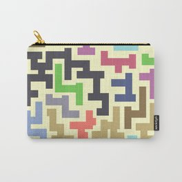 Colorful Maze IV Carry-All Pouch