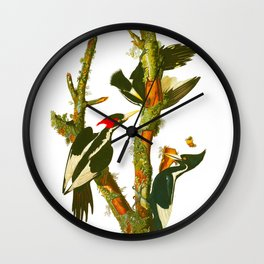 Ivory-billed Woodpecker Wall Clock