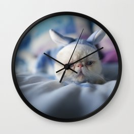 a case of Mistaken Identity Wall Clock