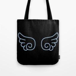 Chibi Angel Wings Tote Bag