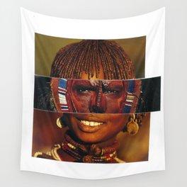 Face Swap I Wall Tapestry