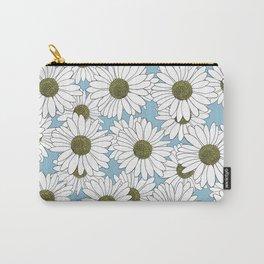 Daisy Blue Carry-All Pouch