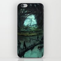 starcraft iPhone & iPod Skins featuring From Hell to Heaven through the tree of knowledge by Rafael Falconi