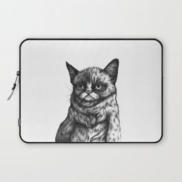 Tard the Grumpy Cat Laptop Sleeve